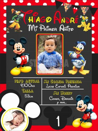 Pizarra Mickey Mouse