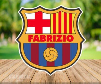 fondo deporte barcelona insignia - decoración cumpleaños logo barca