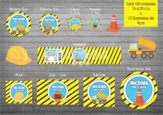 Stickers Infantiles Constructor
