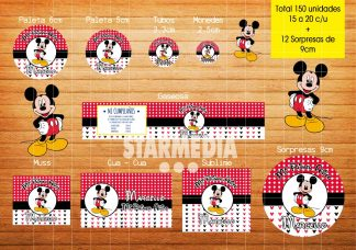 Stickers Infantiles Mickey Mouse