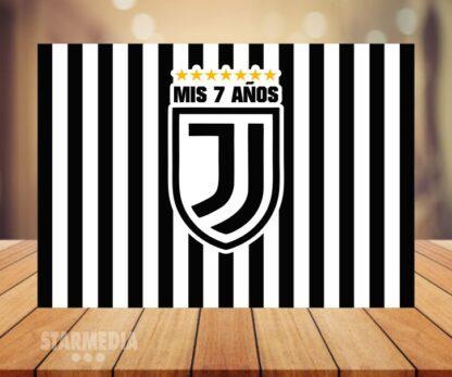 fondo deporte juventus - decoración cumpleaños rayas negro blanco