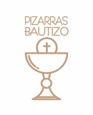 Pizarras Bautizo