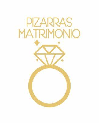 Pizarras Matrimonio